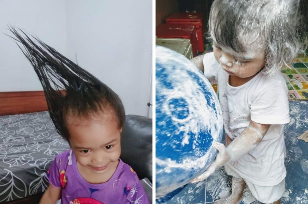 Parents Share Hilarious Moments With Bored Kids At Home On 'Anak Sepahkan Apa Hari Ini' FB Page