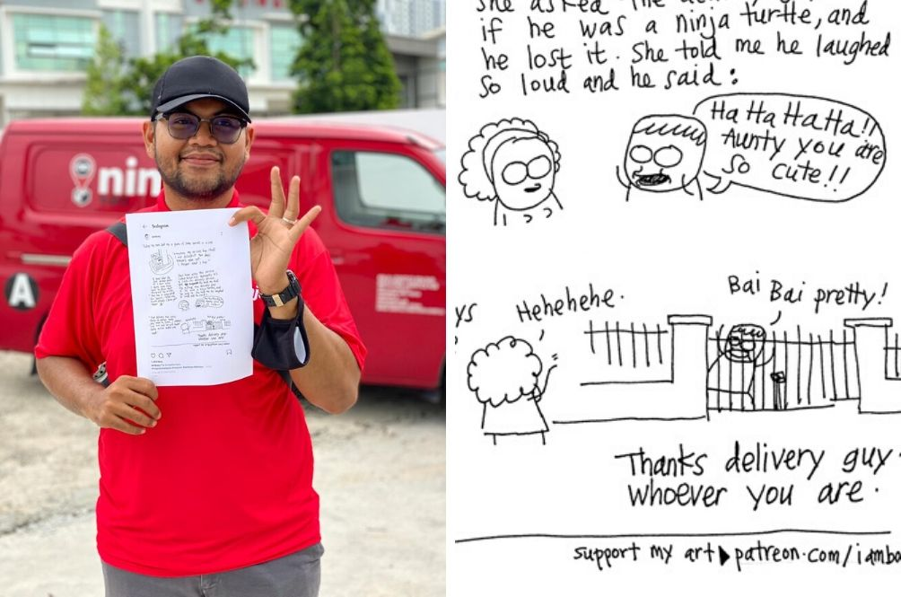 Friendly Rider Gets Featured In Comic And Receives TV From Company For Going The Extra Mile