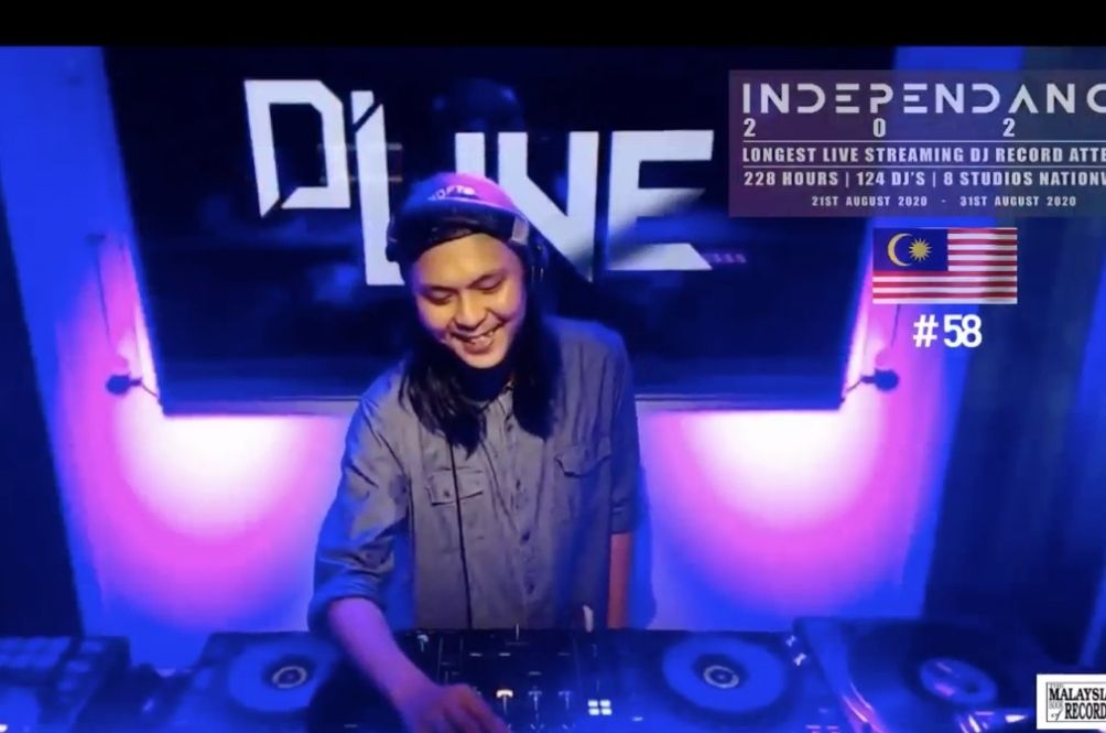 Let The Music Play! Malaysian DJs Attempt To Set Record For Having Most DJs In A Virtual Event