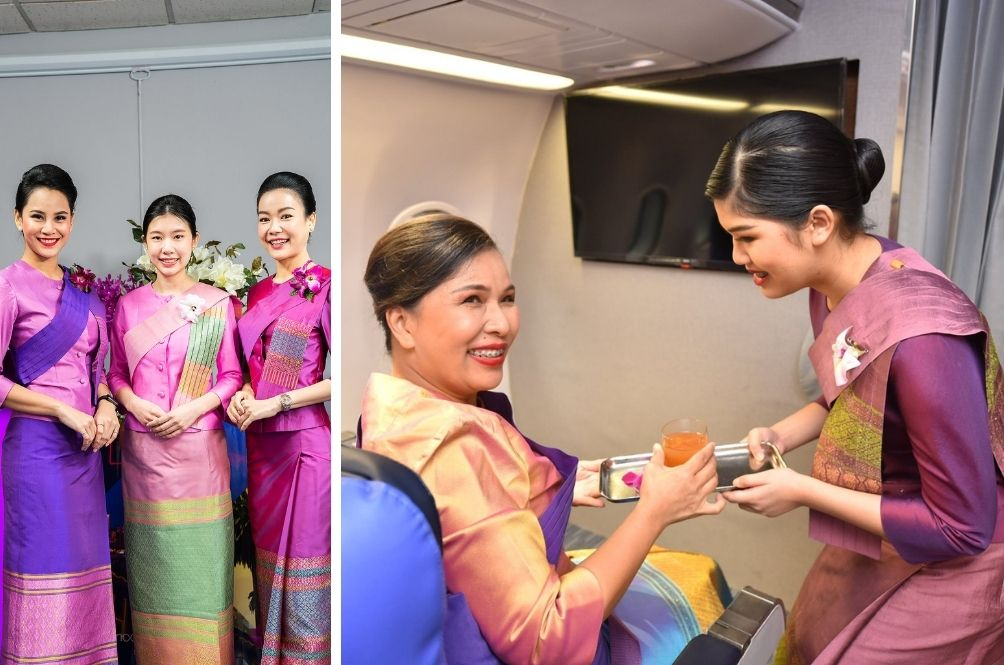 Creative Income: Thai Airways Comes Up With Promo Offering People To Be A Flight Attendant For A Day