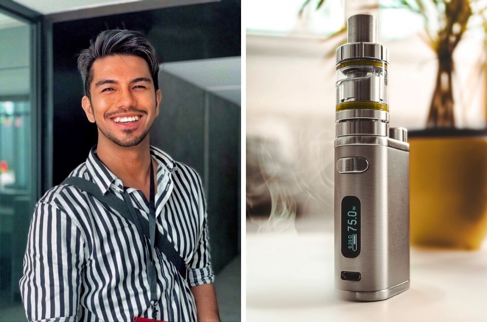 M'sian Actor Steps Out For Vape Break, Fined RM1k For Not Wearing Mask In Public