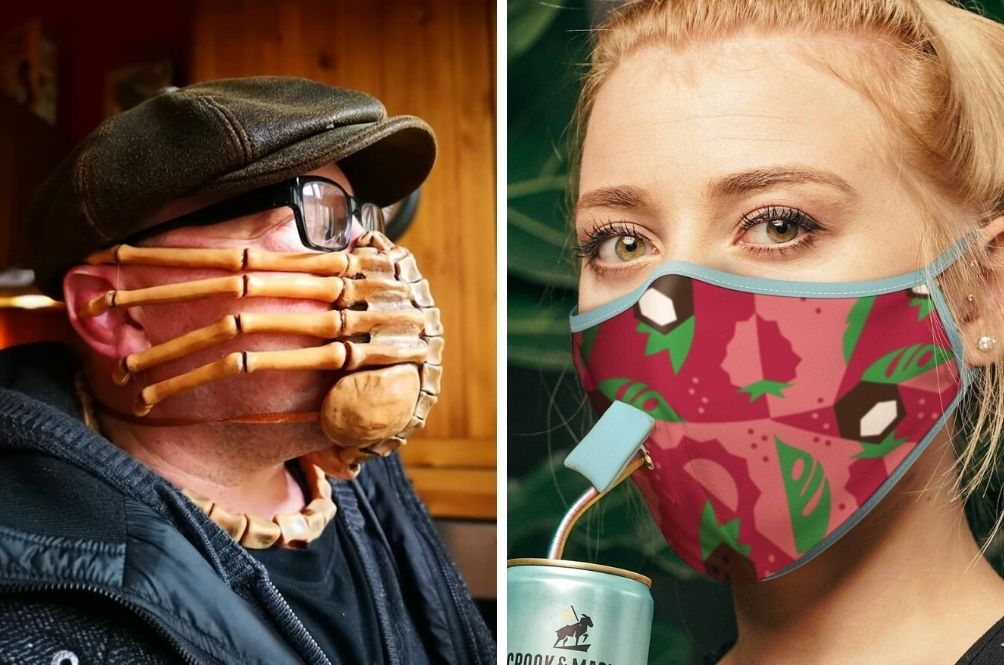 5 Wackiest/Most Creative Face Masks You Never Knew You Needed