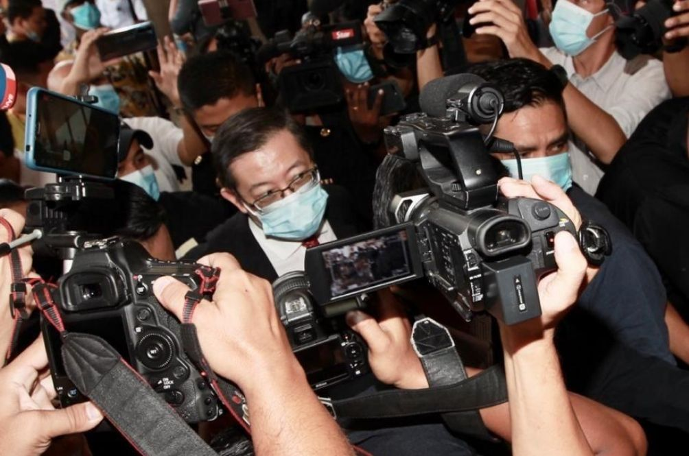 Guan Eng Claims Trial To Graft Charge Relating To Penang Undersea Tunnel Project, Bail Set At RM1mil