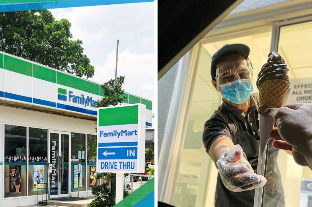 First Drive-Thru FamilyMart In Malaysia Opens In Klang, Special Sofuto Promo For Customers