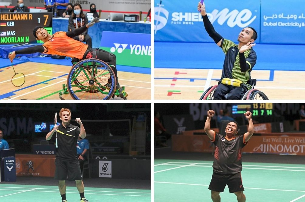 Way To Go! Malaysian Para Shuttlers Win Three Gold Medals, One Silver During Dubai Tournament