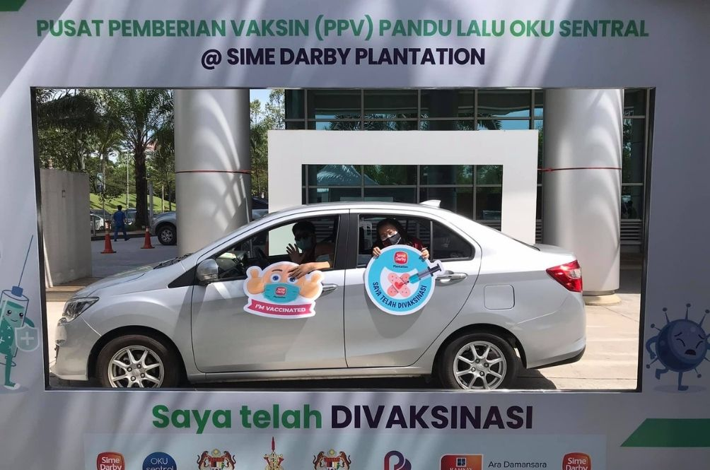 This Drive-Thru PPV Is The First In M'sia, Meant To Ease Vaccination Process For The Disabled