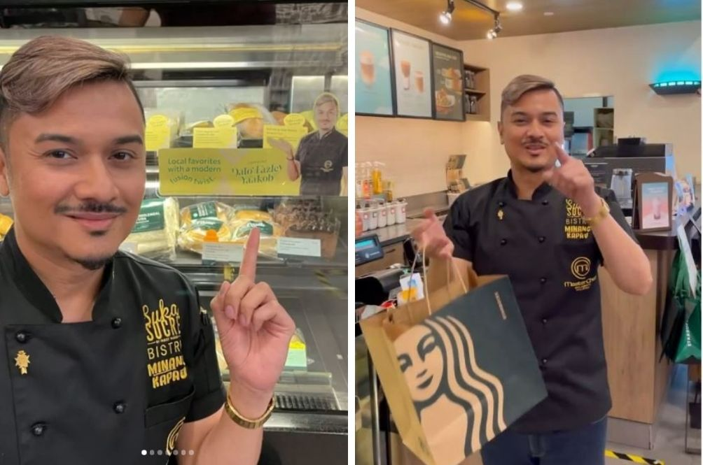 You Can Now Enjoy Dishes By Celebrity Chef Fazley Yaakob At Starbucks Outlets In The Klang Valley