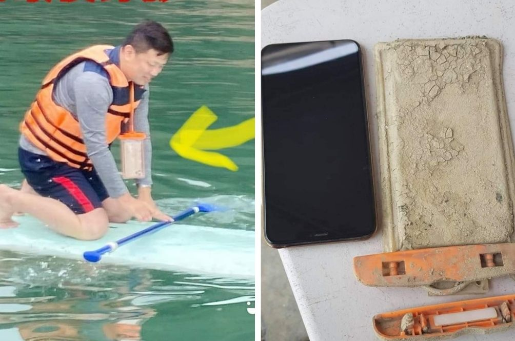 Man Finds iPhone He Dropped In Lake A Year Later, Phone In Perfect Working Condition!