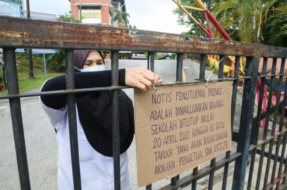 COVID-19 Cases: A Total Of 103 Schools Ordered To Close In Selangor, Penang And Negeri Sembilan
