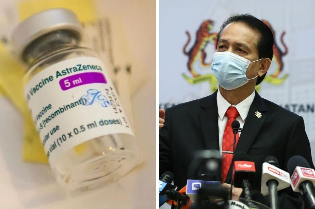 Dr Noor Hisham: Blood Clot Cases Linked To AstraZeneca Vaccine Jabs Rare