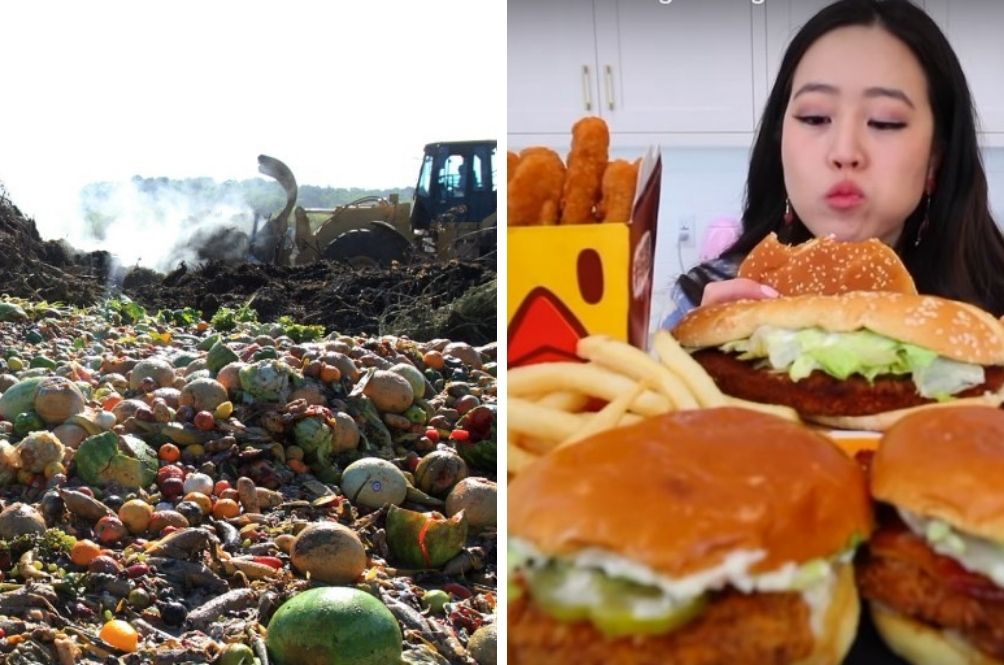 China's Anti-Food Waste Law Bans Food Bloggers From Binge Eating And Fines Those Who Waste Food