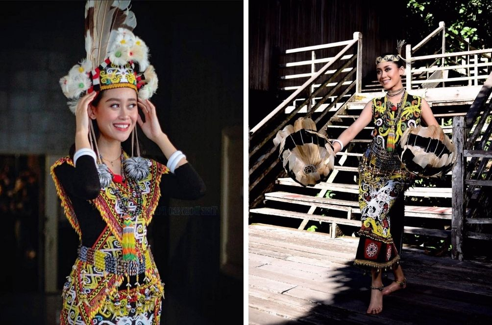 From Plucking Chicken Feathers To Dancing, Francisca Luhong Shares About Gawai Celebrations At Home