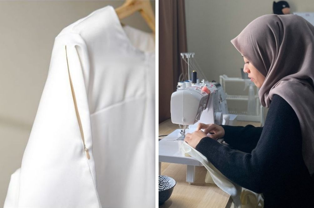 """Perak Woman Creates""""Vaccine-Friendly"""" Blouse With Zipper On Sleeves, Orders Flood In From Netizens"""