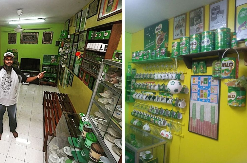 Klang Man Turns Living Room Into Milo Gallery With Hundreds Of Collectibles