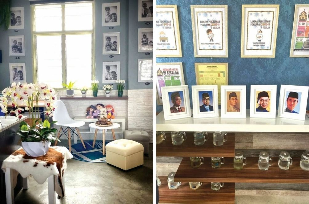 Amazing Kelantan Teacher Spends RM1k To Decorate Classroom For Students Returning After MCO