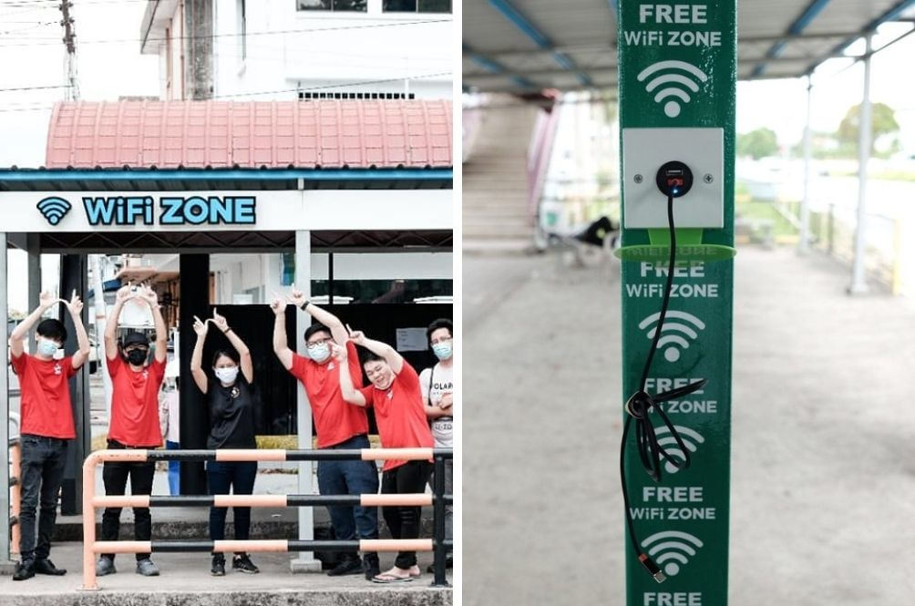 This Sandakan Bus Stop Offers Free Solar-Powered Wi-Fi All Day, Err Day!