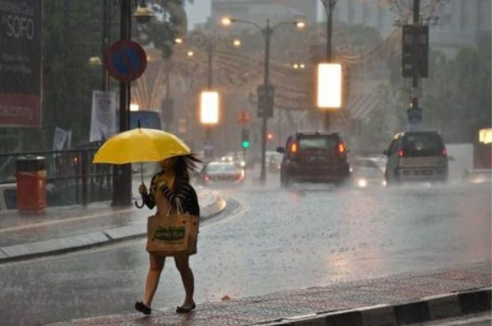 MetMalaysia Issues Orange Level Heavy Rain Weather Alert For Several States In Peninsular Malaysia