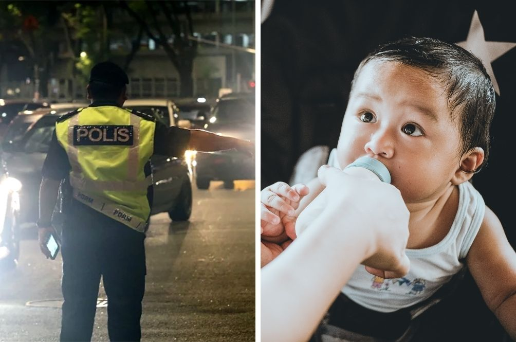 Police Officers Help Desperate Father In Need Of Formula Milk For Baby