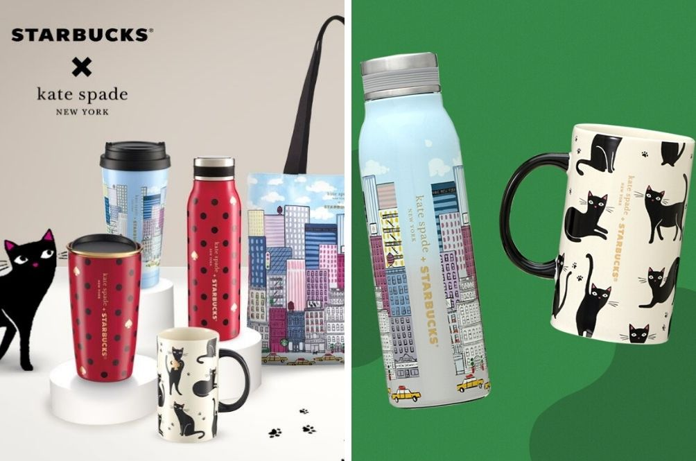 Starbucks Has A New Collection With Kate Spade And It's Cute!