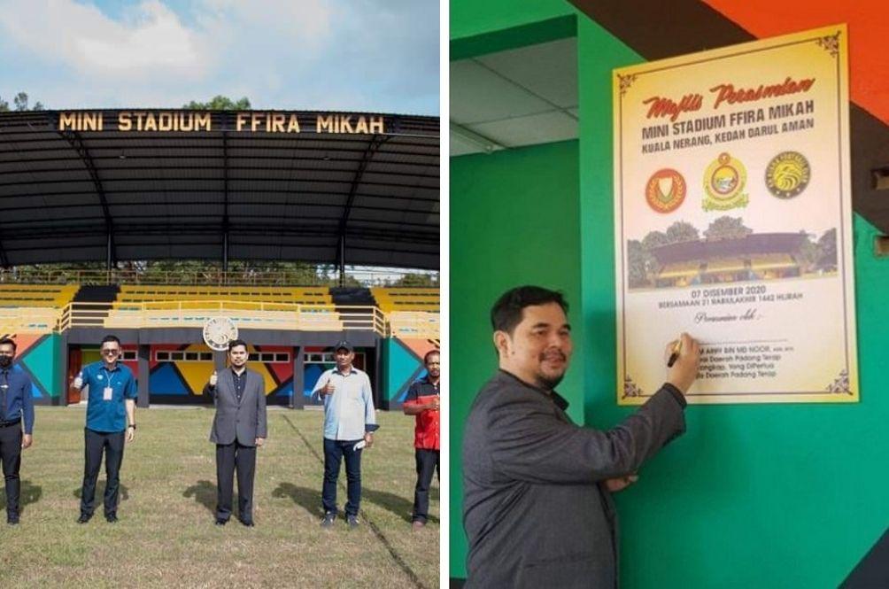 FFira Mikah? Hakim Ariff, Padang Terap District Officer Insists  That Stadium Not Named After Him