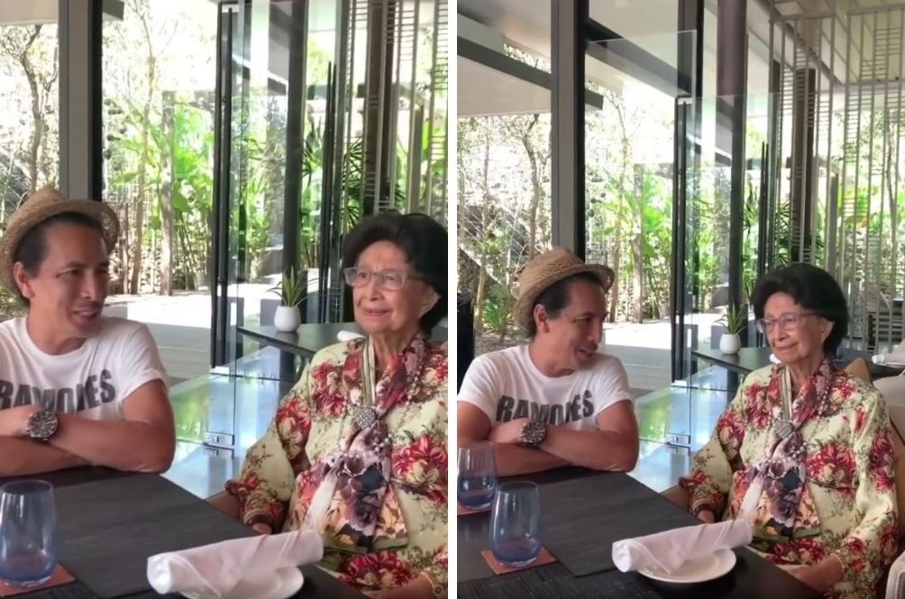 Amy Search Seranades Dr Siti Hasmah With His Hit Song 'Isabella'