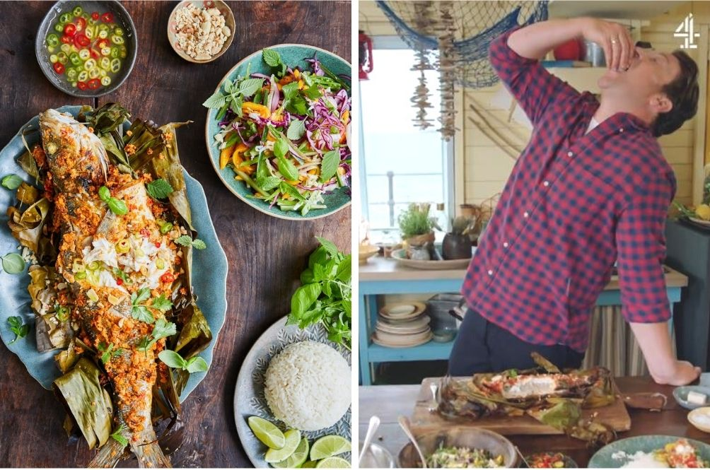 Celebrity Chef Jamie Oliver Features Ikan Bakar On British Cooking Show And Malaysians Love It