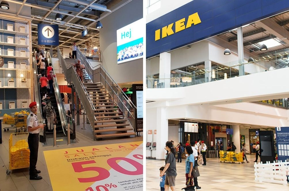 IKEA Cheras Temporarily Closed, Security Guards Test Positive For COVID-19