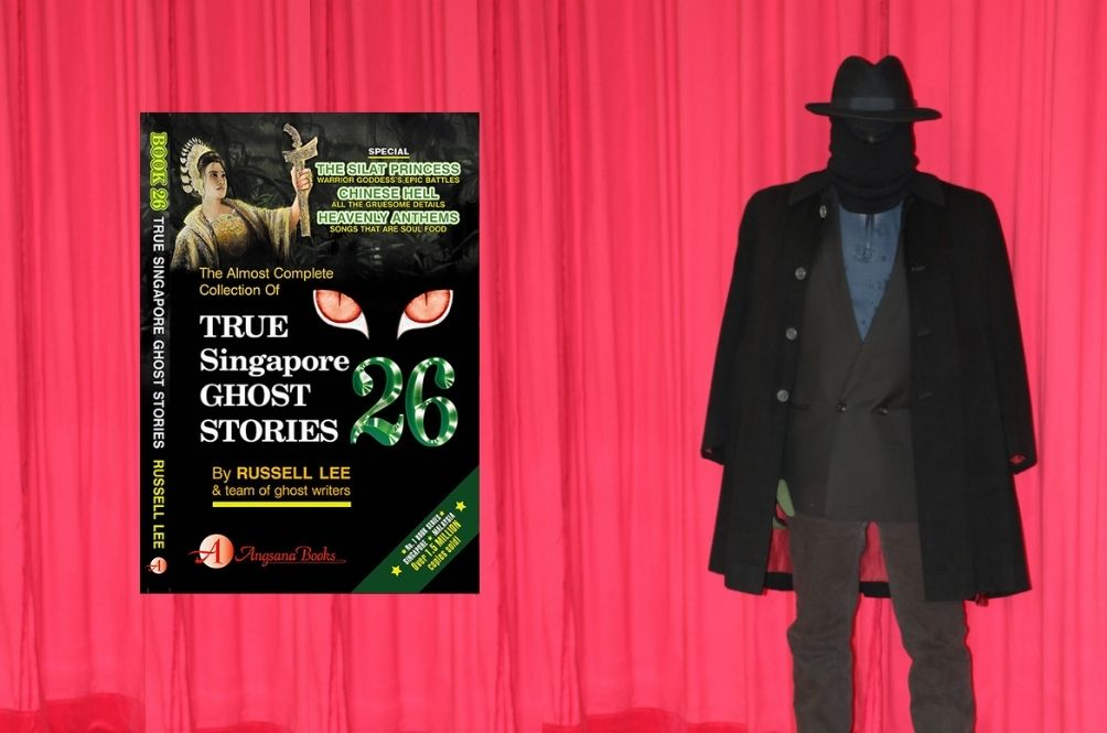 Getting To Know Russell Lee, The Mysterious Masked Writer Behind 'True Singapore Ghost Stories'