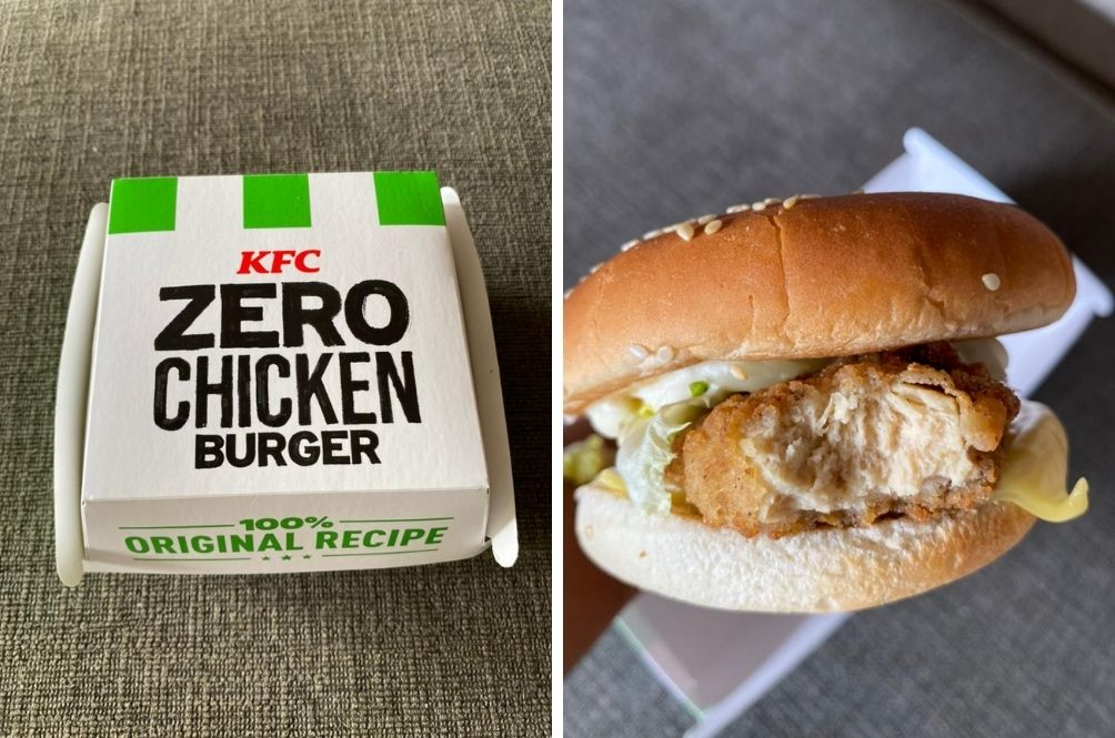 [REVIEW] We Tried The Meatless 'Zero Chicken Burger' By KFC And We Were Surprised
