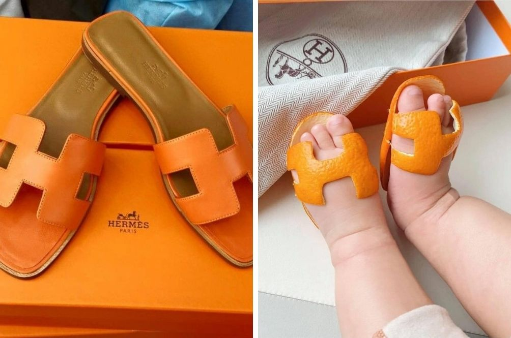 Genius! Netizens Recreate Hermès Oran Sandals Using Mandarin Orange Peels