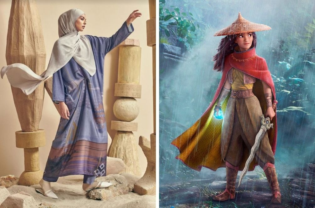 M'sian Fashion Brand Pairs Up With Disney To Release Special 'Raya And The Last Dragon' Collection