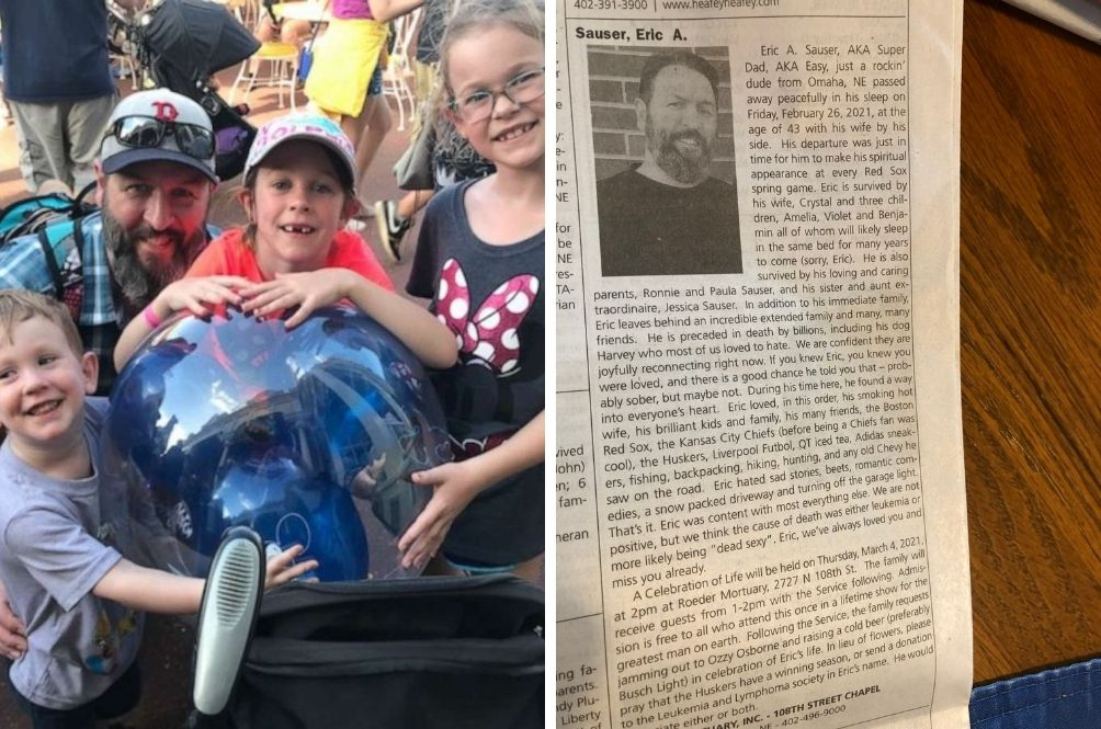 Widow's Humourous Obituary For 'Dead Sexy' Husband Goes Viral