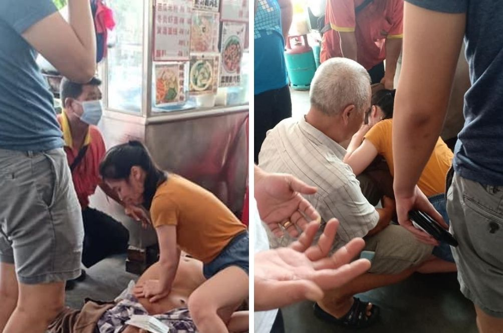 Malaysian Woman Praised Online For Performing CPR On Unconscious Man