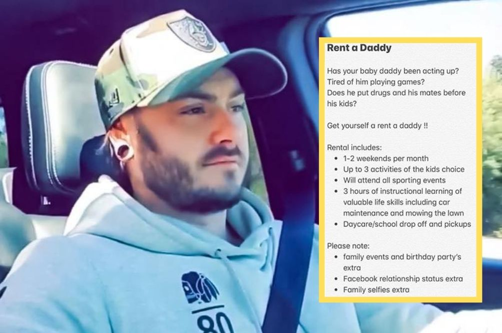 Australian Man Offers To Be A Part Time Father Figure Via 'Rent-A-Daddy'