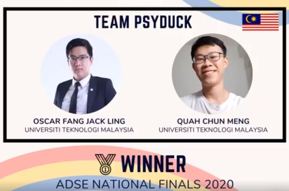 Two UTM Students Win Asean Data Science Competition