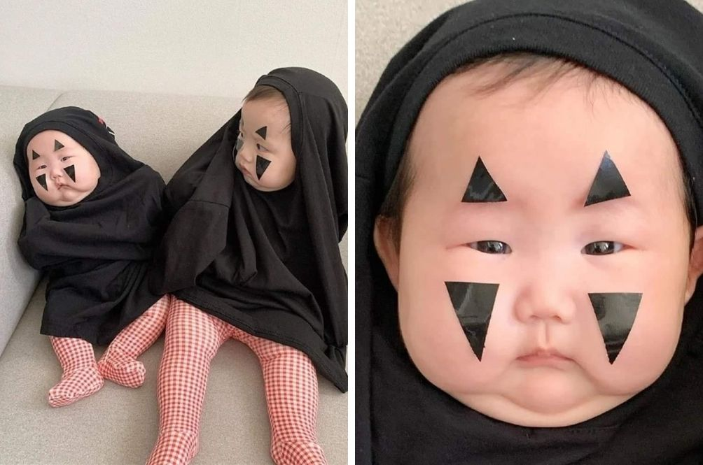 These Two Kids Dressed Up As 'No Face' Have Just Won Halloween
