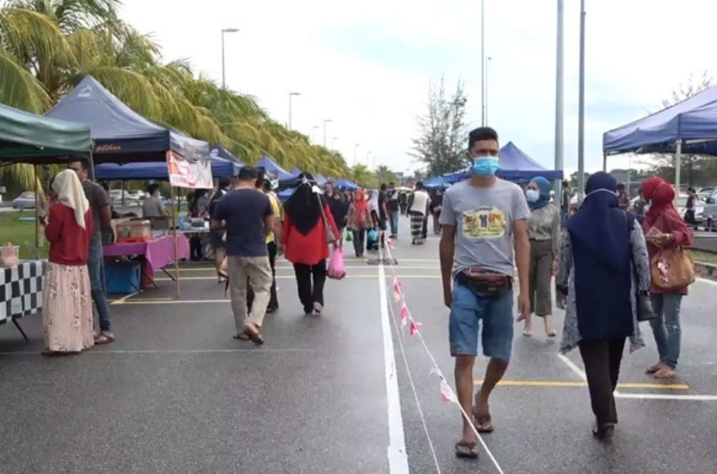 S'gor, KL, Putrajaya CMCO: Pasar Malam, Dine-Ins, Non Contact Sports Allowed, Other SOPs Released