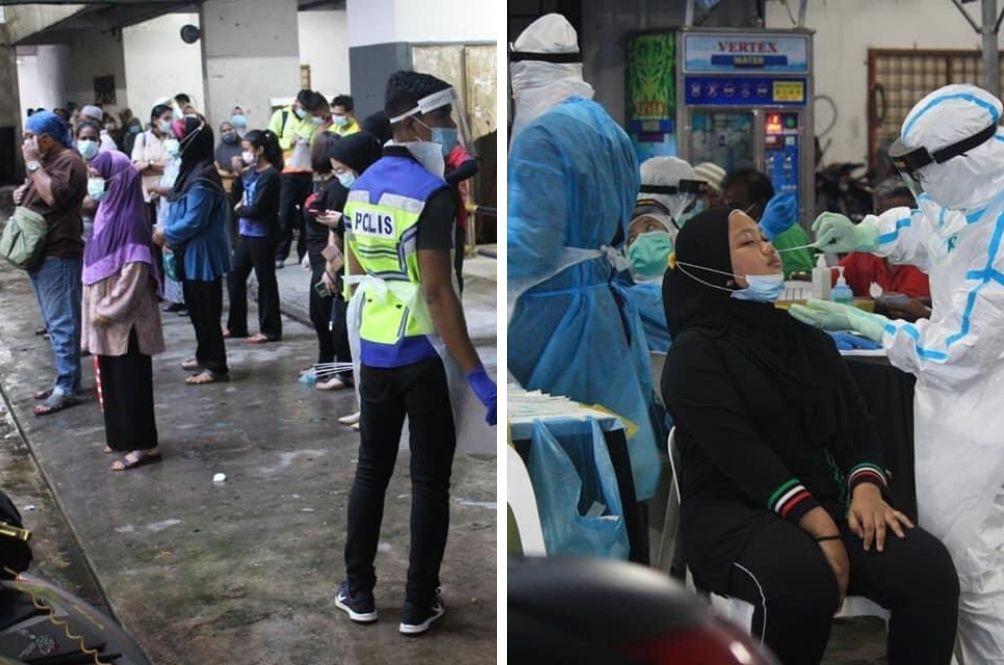 23 COVID-19 Positive Cases Detected At Pelangi Damansara Flats, Mass Testing Ongoing