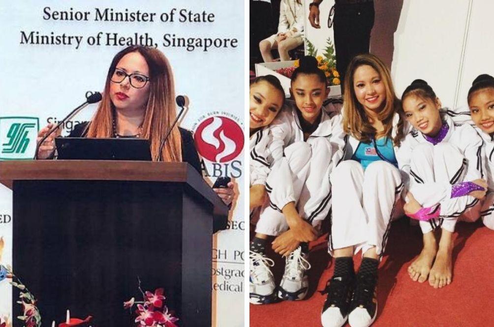 Former Malaysian Gymnast Dr Farrah Now An Associate Professor