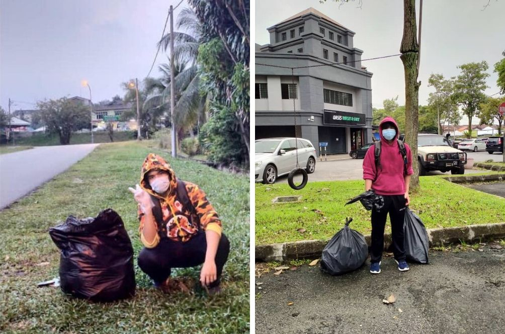 Malaysian Teenager Vows To Collect Rubbish For 23 Days To Celebrate Birthday