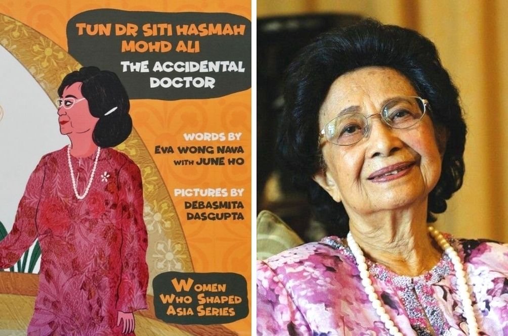 Inspiring Kids One Book At A Time Starting With 'Tun Dr Siti Hasmah Mohd Ali: The Accidental Doctor'