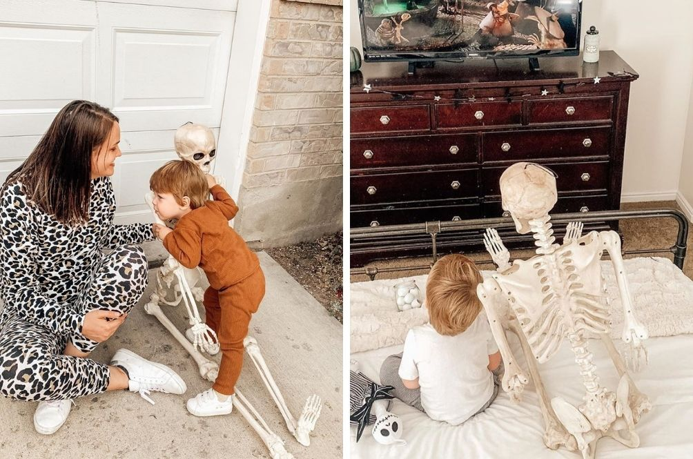 [VIDEOS/PHOTOS] This Two-Year-Old's Adorable Friendship With A Skeleton Is Beyond Cute