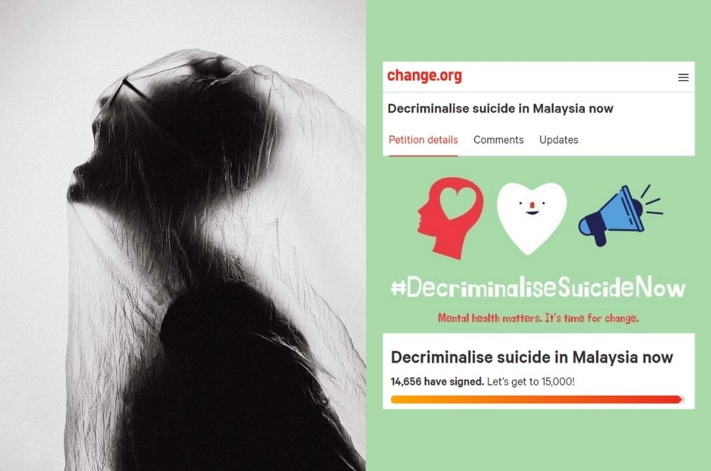 Malaysians Start Online Petition To Decriminalise Suicide, Close To 15k Signatures Now