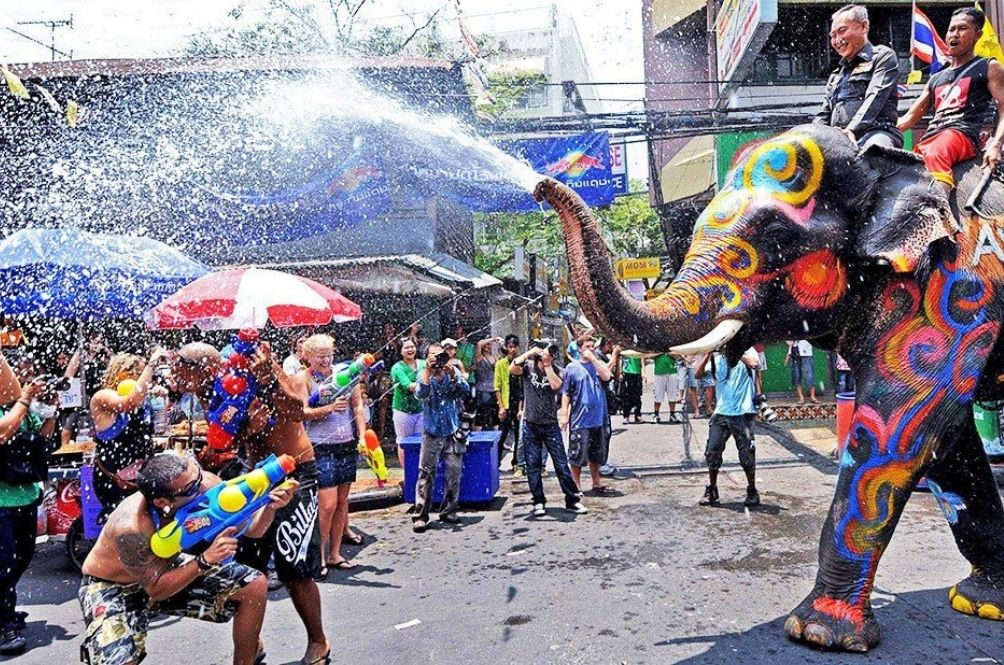 'Holy Water Tunnel' To Replace Water Fights And Foam Parties During Thailand's Songkran Festival