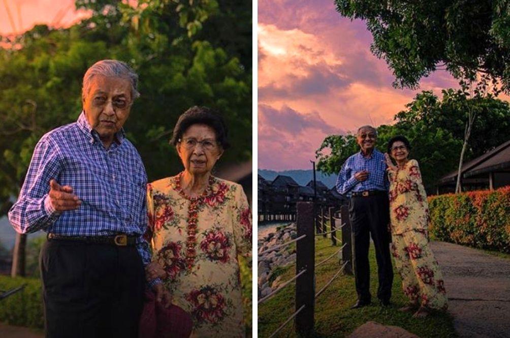 Marking Their 64th Wedding Anniversary, Tun M Shares Adorable Photos With Tun Siti Hasmah
