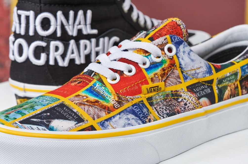 Ready For An Adventure? Vans And National Geographic Have Paired Up And Released A Wild Collection