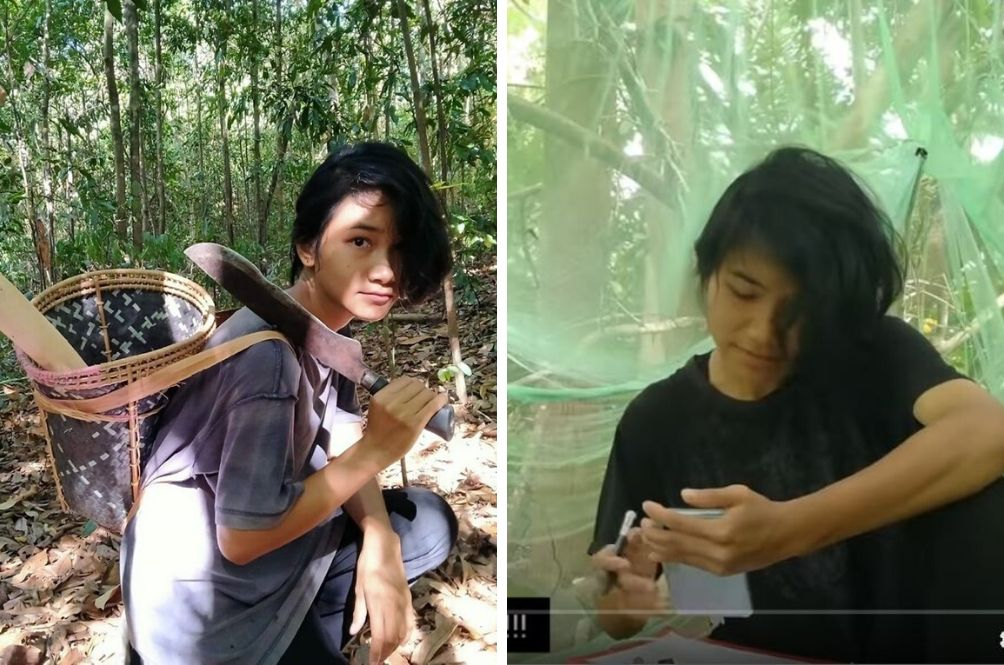 Bad Internet At Home, Sabah Student Climbs And Sits On Tree To Get Best Reception For Online Exams