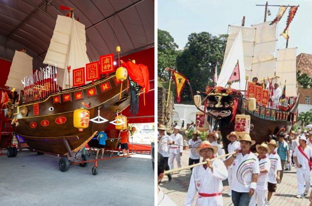 Melaka Temple To Hold Ancient Wangkang Festival Soon To Ward Away COVID-19 Negativity