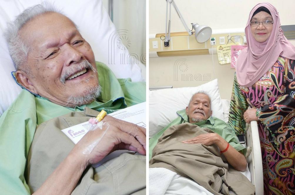 Anjang Aki Masuk Hospital Akibat 'Vertigo'