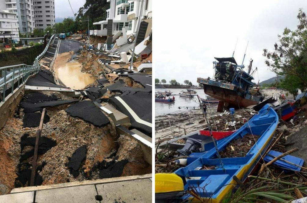 Badai '5/11 Storm' Paling Ganas Dalam Sejarah Pulau Pinang